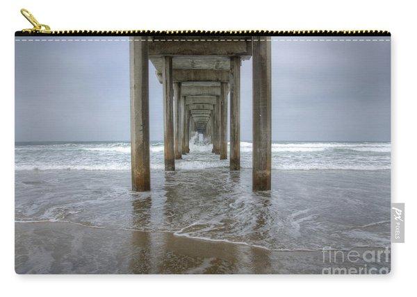 Scripps Pier La Jolla California 4 Carry-all Pouch