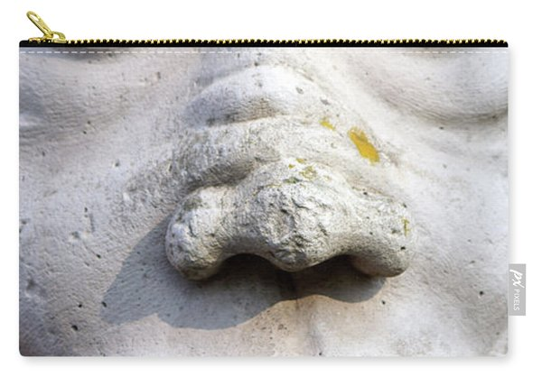 Sculpture At The Main Entrance Of The Corvey Monastery Carry-all Pouch