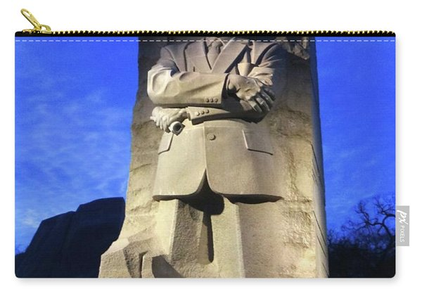 Sculptured Profile Martin Luther King Jr. Carry-all Pouch