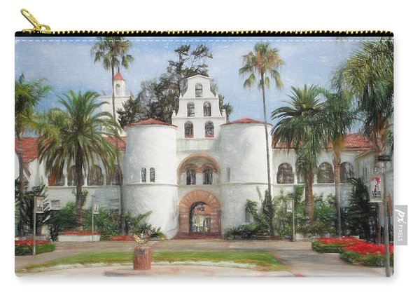 Sdsu Drawing Carry-all Pouch
