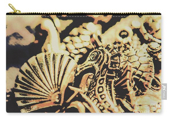 Sea Abstract From The Nautics  Carry-all Pouch