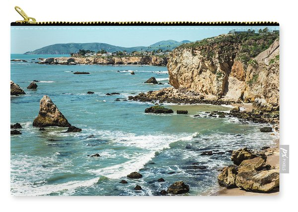 Sea And Cliffs Carry-all Pouch