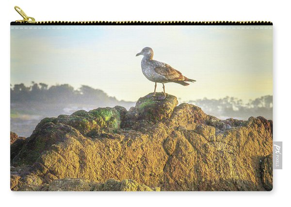 Sea Bird On Point Lobos Carry-all Pouch