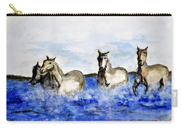Sea Horses Carry-all Pouch