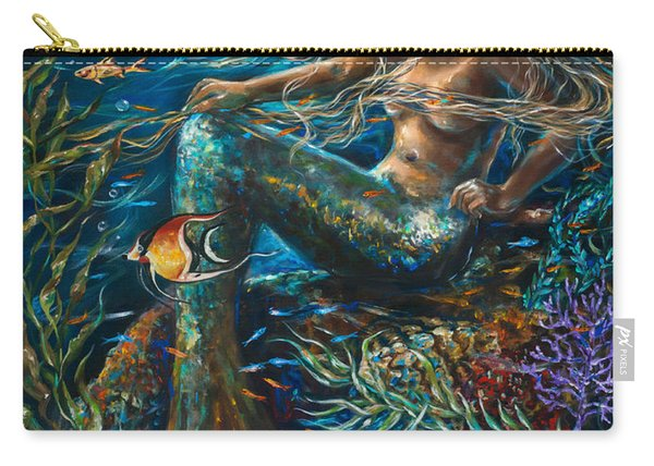 Sea Jewels Mermaid Carry-all Pouch