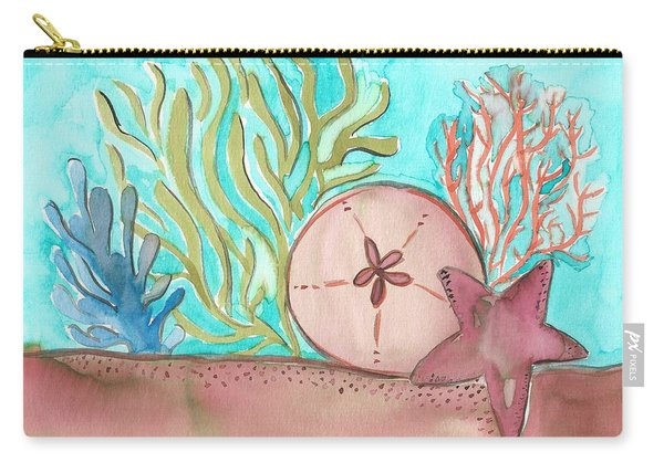 Sea Life II Carry-all Pouch