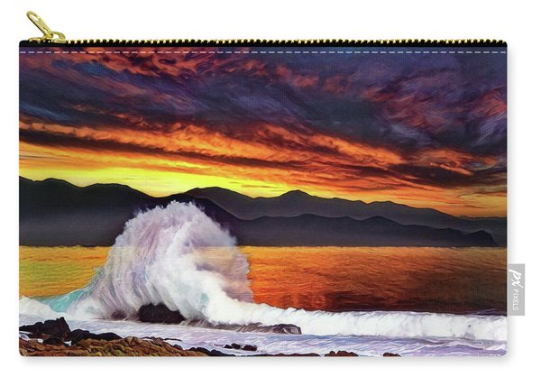 Sea Of Cortez Sunset Carry-all Pouch