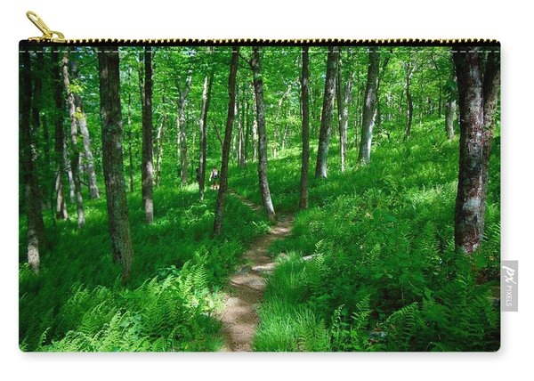 Sea Of Ferns Carry-all Pouch