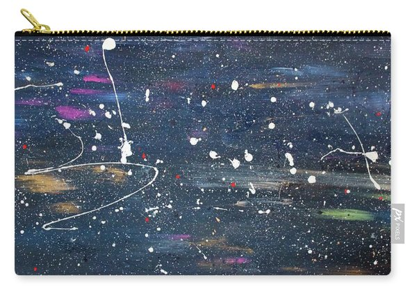 Carry-all Pouch featuring the painting Sea Of Love by Michael Lucarelli
