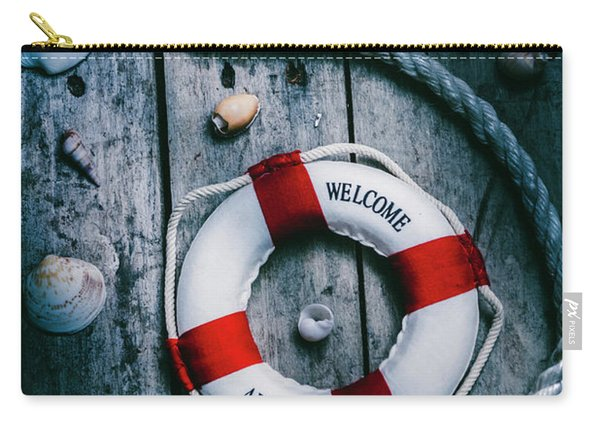 Sea Of Turbulence Carry-all Pouch