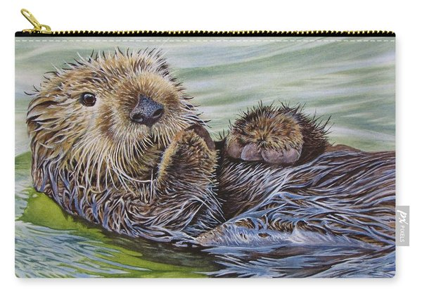 Sea Otter Carry-all Pouch