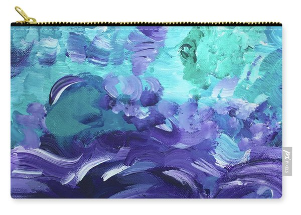 Sea Purple Carry-all Pouch