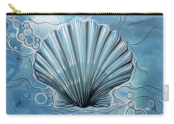 Sea Scalop Carry-all Pouch