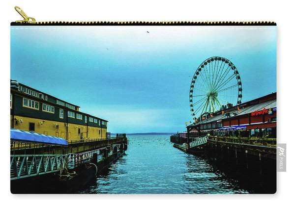 Sea Side, Seattle 2 Carry-all Pouch