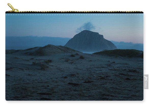 Sea Stack Morro Bay California Carry-all Pouch