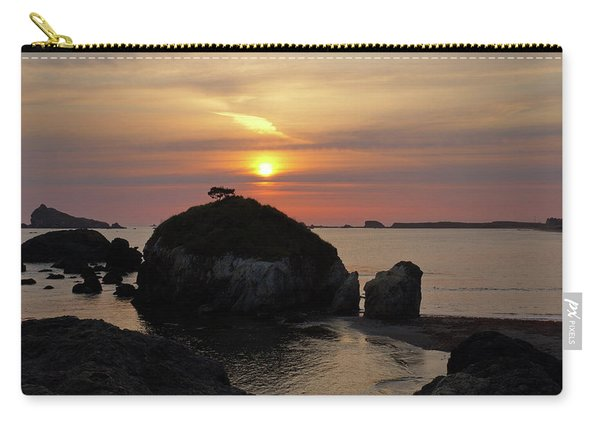 Sea Stack Sunset Carry-all Pouch