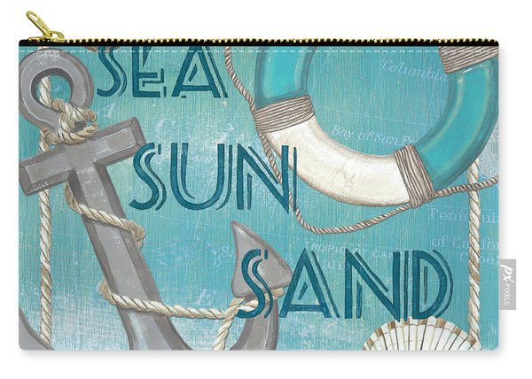Sea Sun Sand Carry-all Pouch