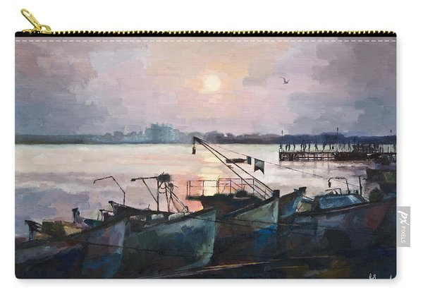 Sea Sunset Carry-all Pouch