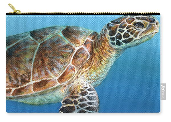 Sea Turtle 2 Of 3 Carry-all Pouch