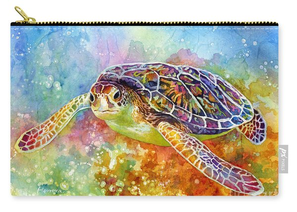 Sea Turtle 3 Carry-all Pouch
