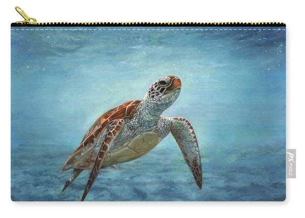 Sea Turtle Carry-all Pouch