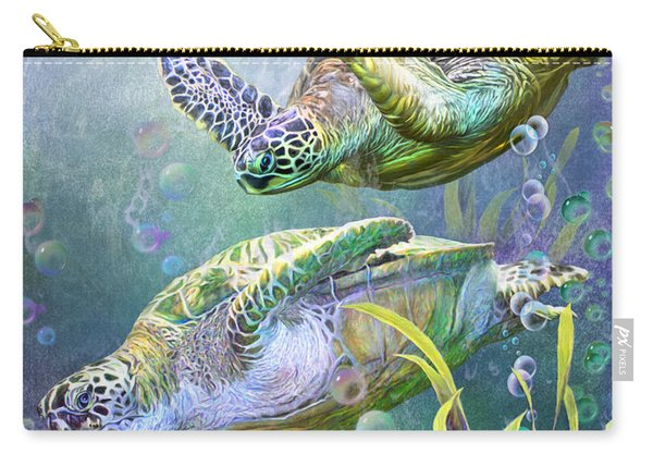 Sea Turtles - Ancient Travelers Carry-all Pouch
