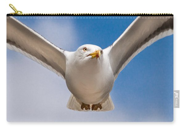 Seabird Closeup Carry-all Pouch