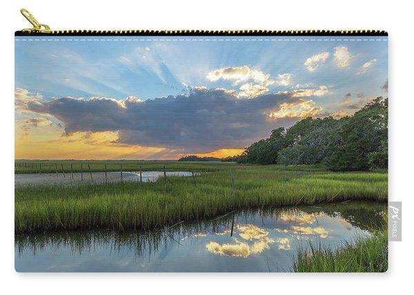 Seabrook Island Sunrays Carry-all Pouch