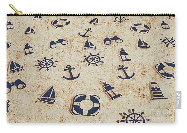 Seafaring Antiques Carry-all Pouch