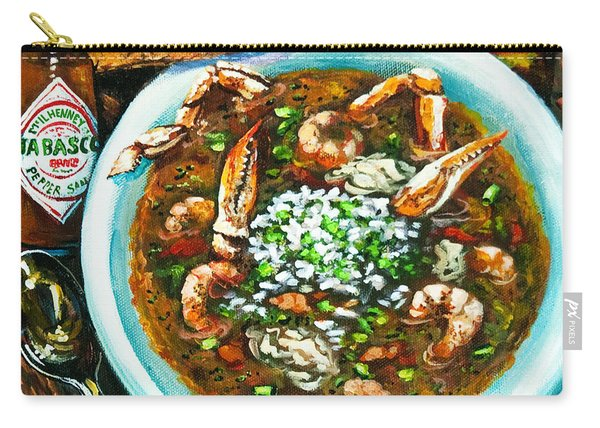 Seafood Gumbo Carry-all Pouch