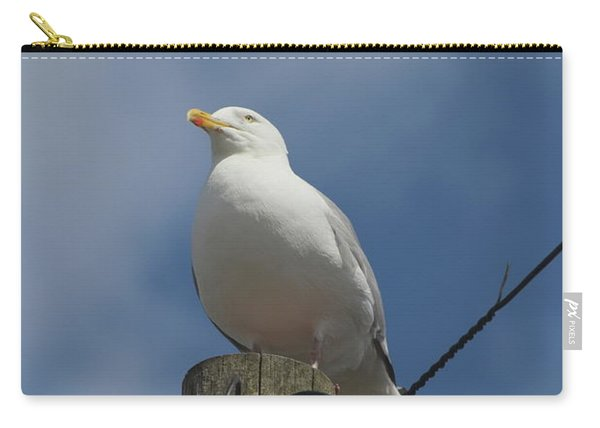 Seagull Perching. Carry-all Pouch