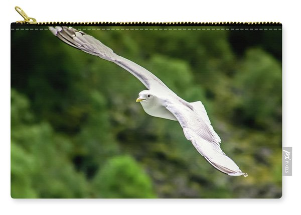 Seagull On The Fjord Carry-all Pouch