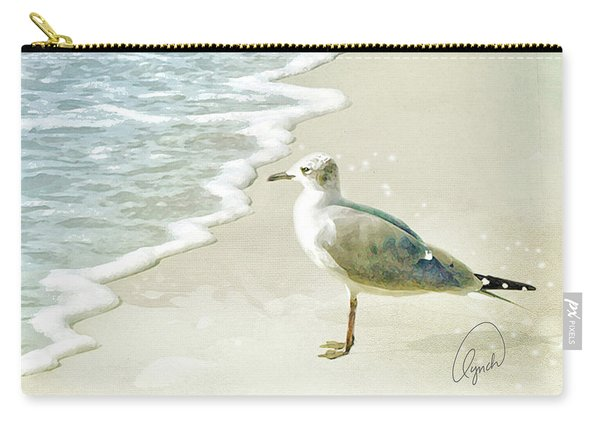 Seagull  Signed Carry-all Pouch
