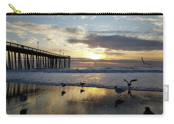 Seagulls And Salty Air Carry-all Pouch
