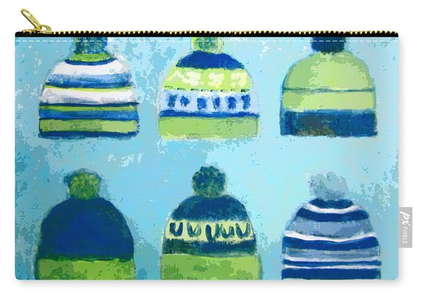 Seahawks Caps Carry-all Pouch