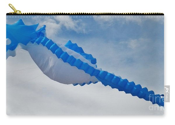 Seahorse In The Sky Kite Carry-all Pouch