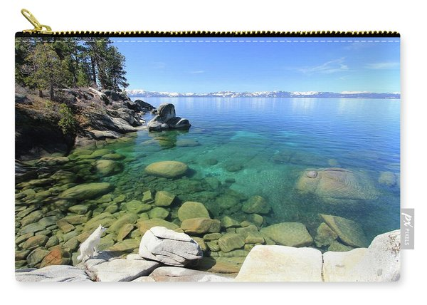 Carry-all Pouch featuring the photograph Search Her Depths  by Sean Sarsfield