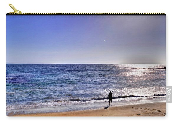 Searching To The Sea Carry-all Pouch