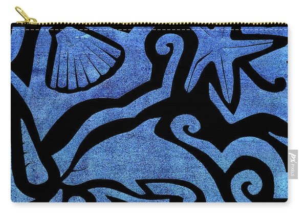Seascape Cut-out Carry-all Pouch