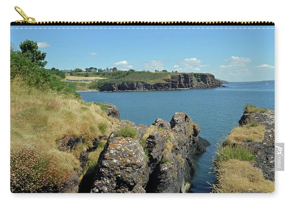 Seascape Dunmore East. Carry-all Pouch
