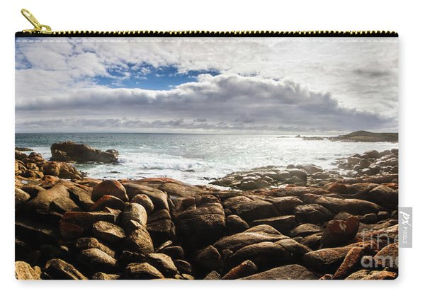 Seascape In Harmony Carry-all Pouch