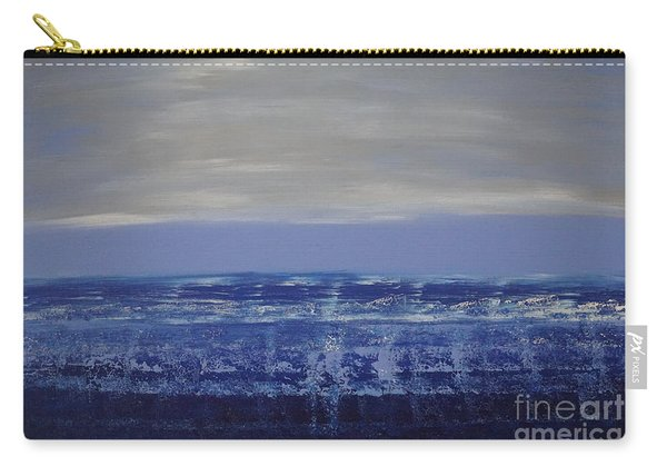 Carry-all Pouch featuring the painting Seascape by Jimmy Clark