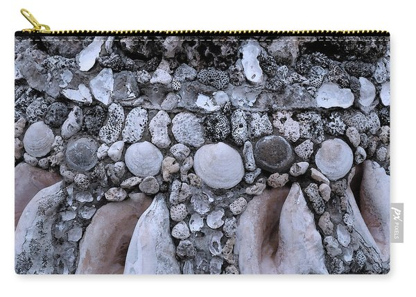 Seashell And Rock Carry-all Pouch