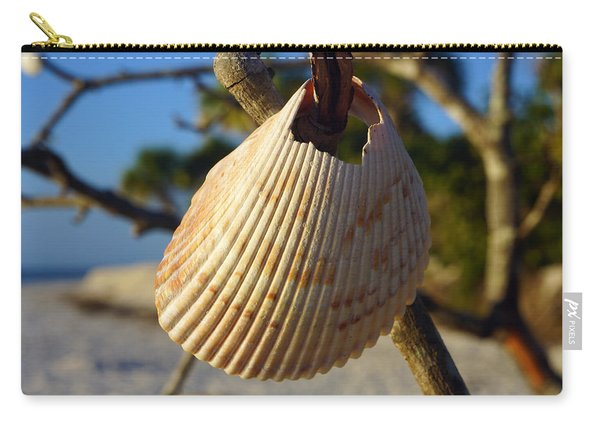 Cockelshell On Tree Branch Carry-all Pouch
