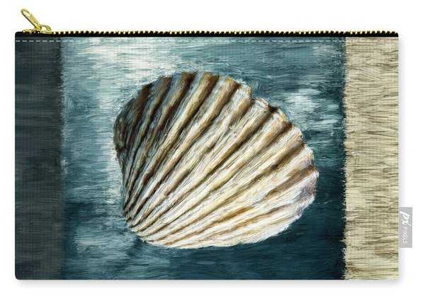 Seashell Souvenir Carry-all Pouch