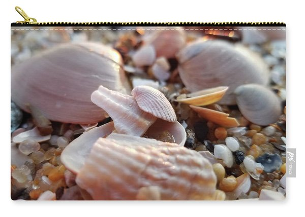 Seashells And Pebbles Carry-all Pouch