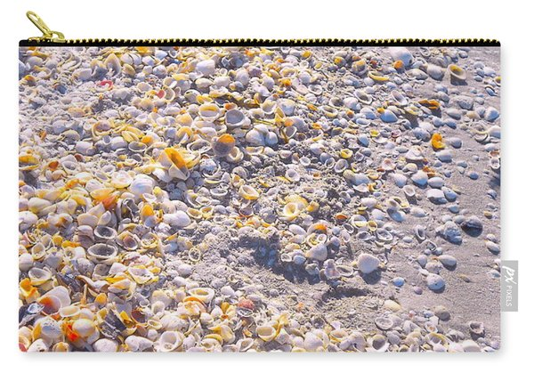 Seashells In Sanibel Island, Florida Carry-all Pouch