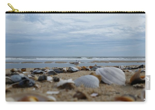 Seashells Seagull Seashore Carry-all Pouch