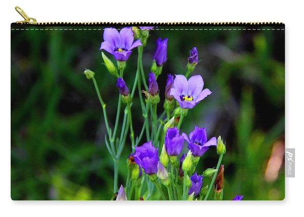 Seaside Gentian Wildflower  Carry-all Pouch