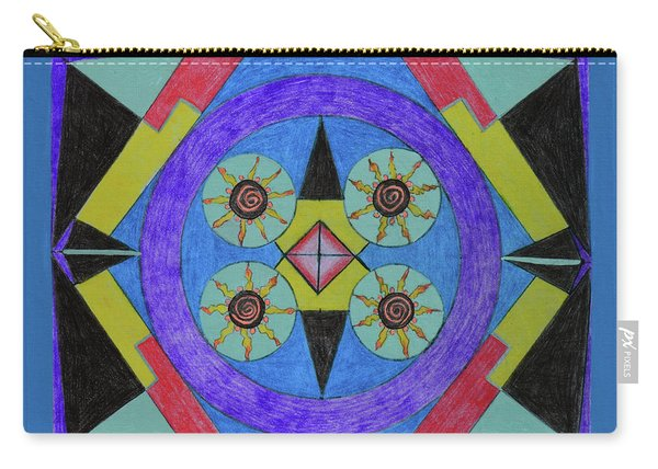 Seasons Of The Sun Carry-all Pouch